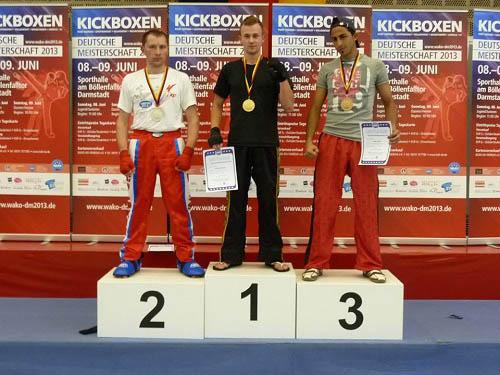 Der Gründer von www.massagerolle-sport.de ist Deutscher Meister im Kickboxen