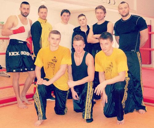 Mein Kickbox Team