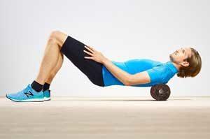 Faszienrollen Anwendung bei Rückenschmerzen